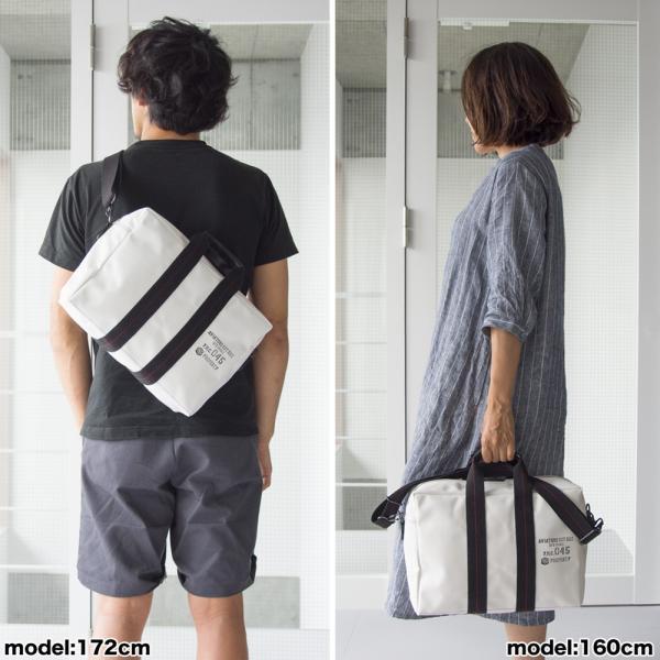 横浜帆布鞄 x 森野帆布 M18A11 Aviators Kit Bag 3/5S|2m50cm|17
