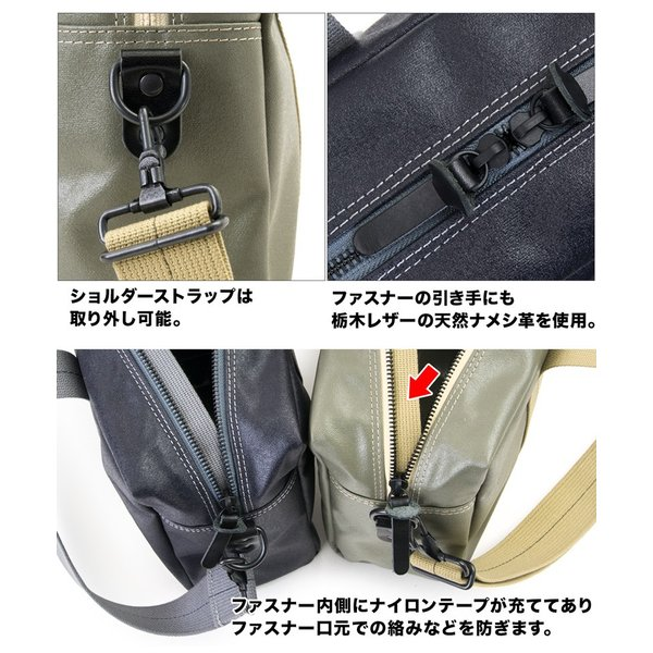 横浜帆布鞄 x 森野帆布 M18A14 Aviators Kit Bag 1/2S|2m50cm|07