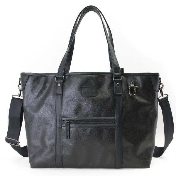 森野帆布 2WAY Tote Bag Premium Black SF-0515 トートバッグ|2m50cm|09