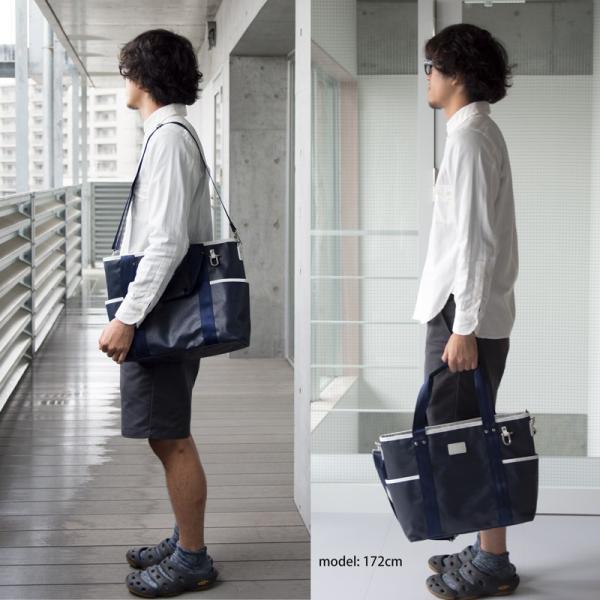 森野帆布 × Signal Flag Sailor 2Way Tote Bag Mサイズ SF-321P|2m50cm|03