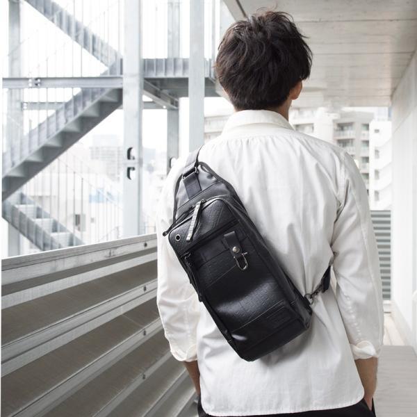 ボディバッグ 森野帆布×SEAL コラボモデル Body Bag SF-0516|2m50cm|03
