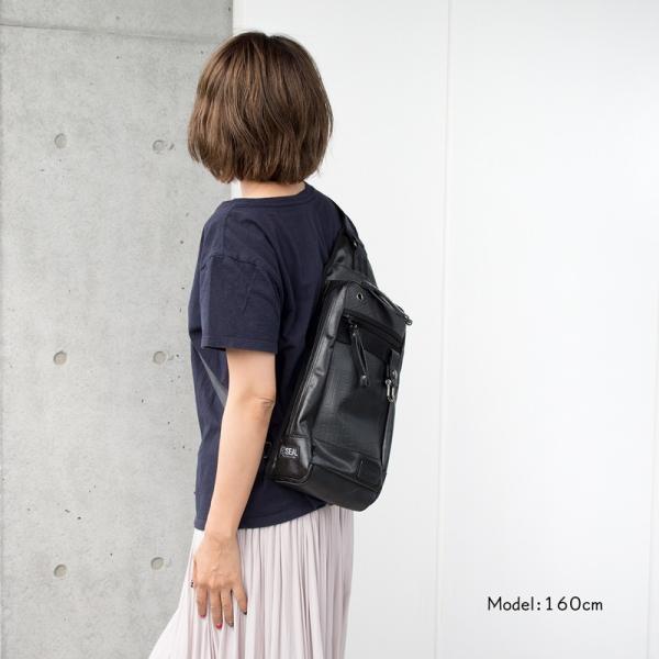 ボディバッグ 森野帆布×SEAL コラボモデル Body Bag SF-0516|2m50cm|06