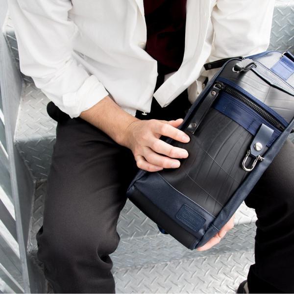 ボディバッグ 森野帆布×SEAL コラボモデル Body Bag SF-0516|2m50cm|07