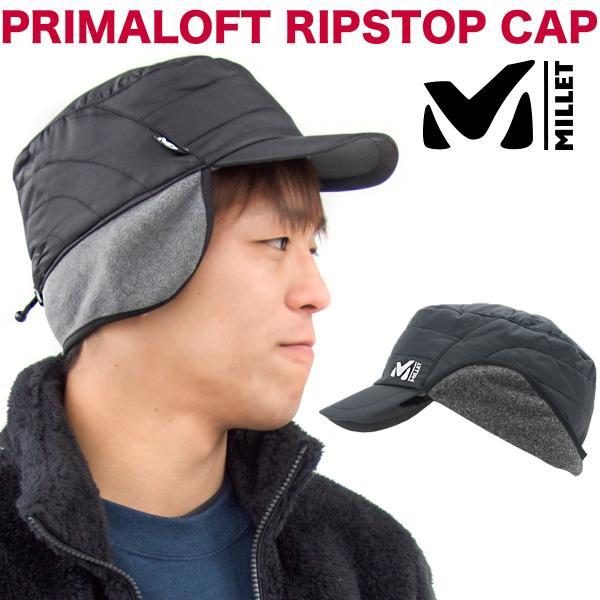 MILLET ミレー 耳付き 帽子 PRIMALOFT RS CAP|2m50cm