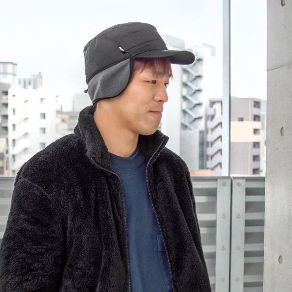 MILLET ミレー 耳付き 帽子 PRIMALOFT RS CAP|2m50cm|02