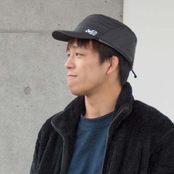 MILLET ミレー 耳付き 帽子 PRIMALOFT RS CAP|2m50cm|04