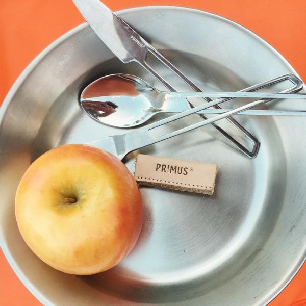 食器 PRIMUS プリムス CF ステンレスプレート CampFire plate|2m50cm|11