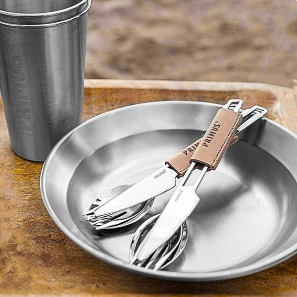 食器 PRIMUS プリムス CF ステンレスプレート CampFire plate|2m50cm|04