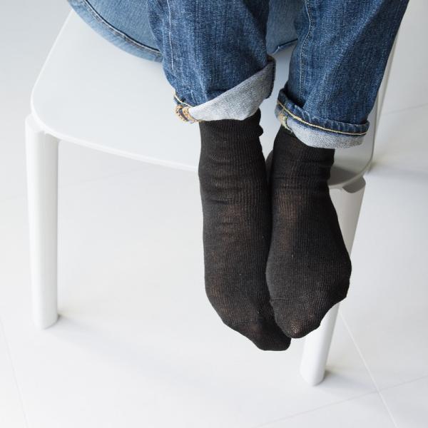 靴下 Small Stone Socks スモールストーンソックス 麻 (リネン) 90% ソックス II 2m50cm 03