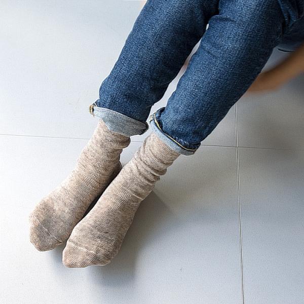 靴下 Small Stone Socks スモールストーンソックス 麻 (リネン) 90% ソックス II 2m50cm 05