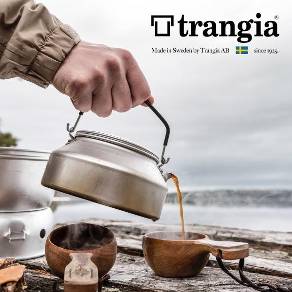 ケトル Trangia トランギア ステンレスノブ ケトル 0.9L やかん|2m50cm|02