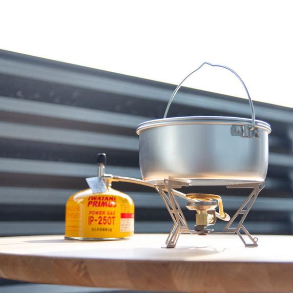 クッカー trangia トランギア ビリーコッヘル 1.0L アルミ|2m50cm|02