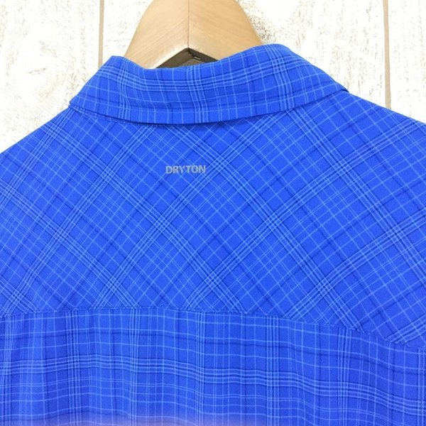 サレワ SALEWA FIANIT DRY MEN L/S SHIRT  International MEN's L ブルー系|2ndgear-outdoor|03