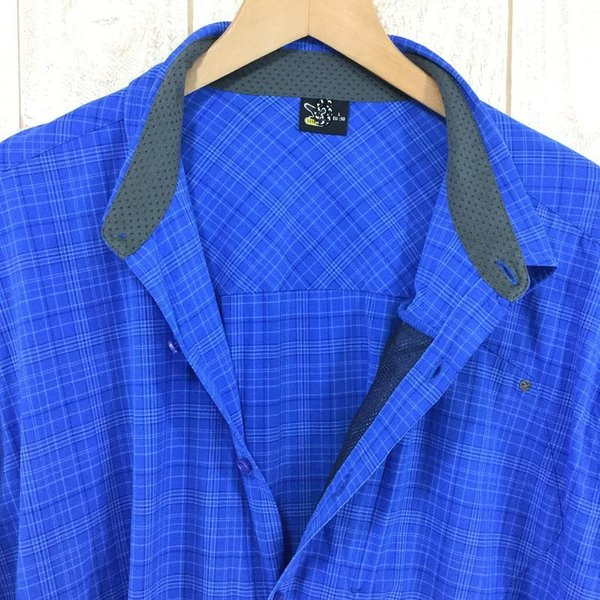 サレワ SALEWA FIANIT DRY MEN L/S SHIRT  International MEN's L ブルー系|2ndgear-outdoor|04
