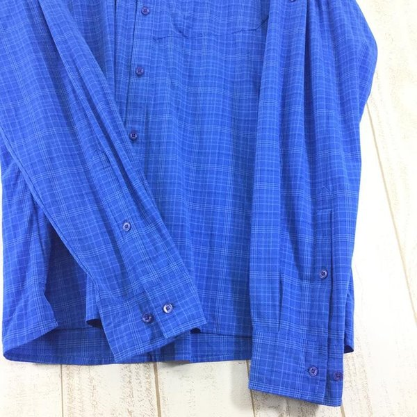 サレワ SALEWA FIANIT DRY MEN L/S SHIRT  International MEN's L ブルー系|2ndgear-outdoor|06