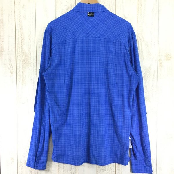 サレワ SALEWA FIANIT DRY MEN L/S SHIRT  International MEN's L ブルー系|2ndgear-outdoor|08