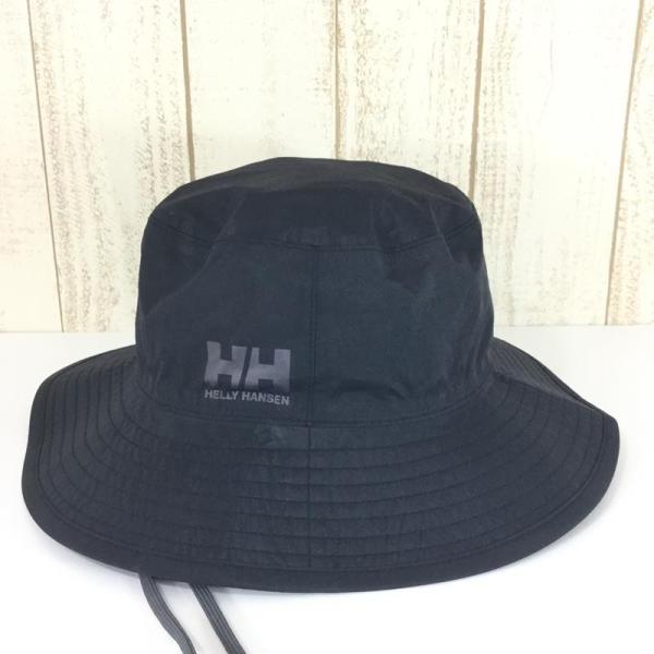 ヘリーハンセン HELLY HANSEN レインハット RAIN HAT 3L防水  L ブラック系|2ndgear-outdoor|03