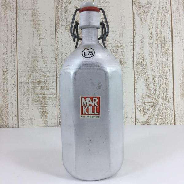 マルキル MARKILL 80s アルミボトル キャンティーン 0.75L ビンテージ  One シルバー系 2ndgear-outdoor 05
