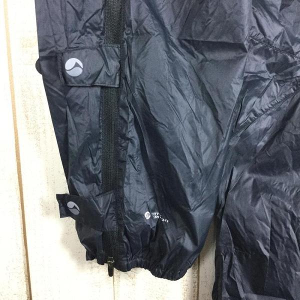 モンテイン MONTANE フェザーライト パンツ FEATHERLITE PANTS パーテックス マイクロライト  MEN's S ブラック系|2ndgear-outdoor|09