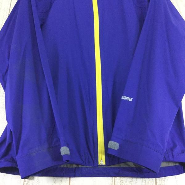ヘリテイジ HERITAGE カモシカ ウィンドストッパー アクティブシェル ジャケット 軽量 レインジャケット  MEN's S ブルー系|2ndgear-outdoor|03