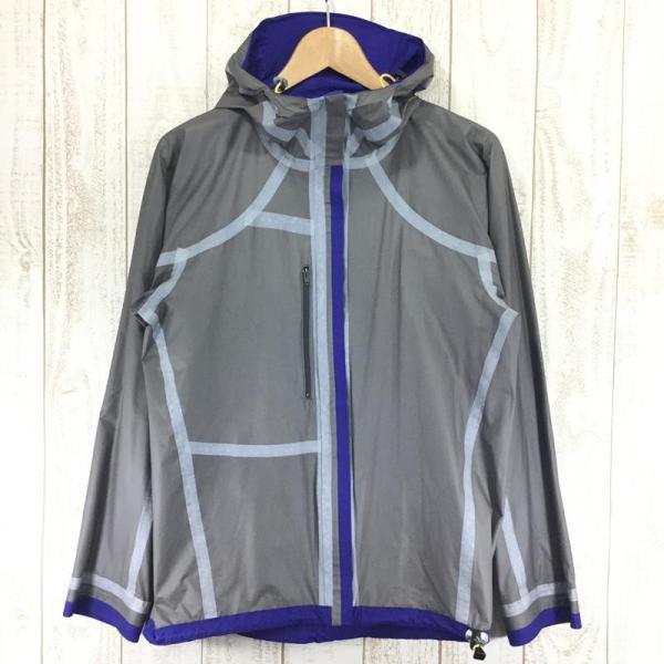 ヘリテイジ HERITAGE カモシカ ウィンドストッパー アクティブシェル ジャケット 軽量 レインジャケット  MEN's S ブルー系|2ndgear-outdoor|09
