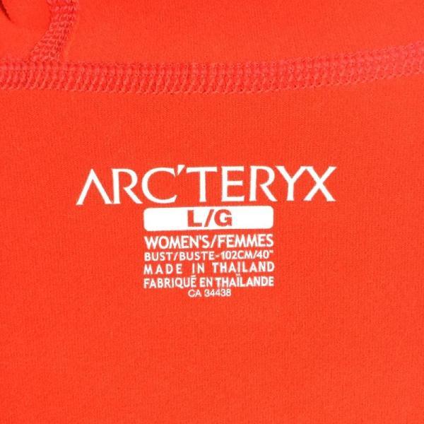 アークテリクス ARCTERYX ストレッチ フリース フーディ  International WOMEN's L オレンジ系|2ndgear-outdoor|06