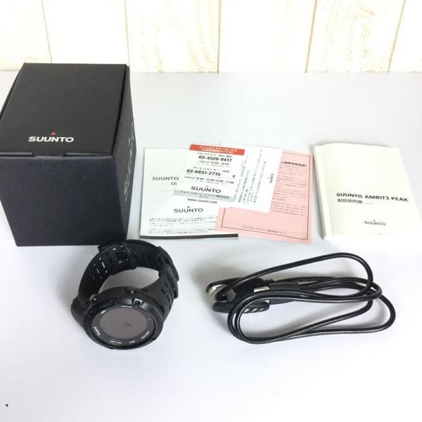 スント SUUNTO アンビット 3 ピーク AMBIT 3 PEAK GPS 腕時計  One ブラック ブラック系|2ndgear-outdoor|06