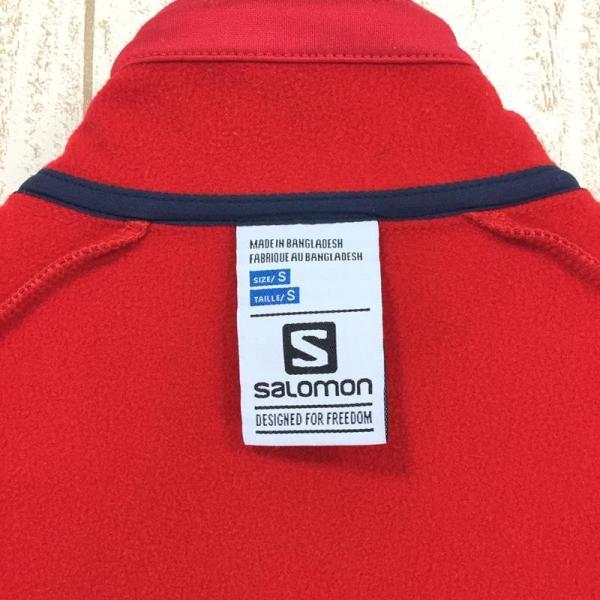 サロモン SALOMON ディスカバリー フルジップ DISCOVERY FZ  MEN's S レッド系 2ndgear-outdoor 10