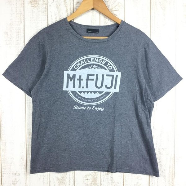 マウンテンマーシャルアーツ UTMF Tシャツ CHALLENGE TO Mt.FUJI MOUNTAIN MARSHALL ARTS MMA MEN|2ndgear-outdoor