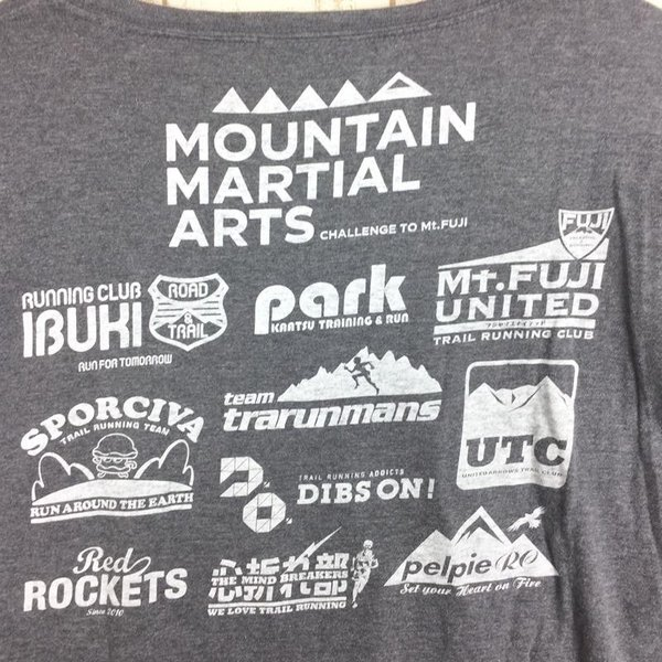マウンテンマーシャルアーツ UTMF Tシャツ CHALLENGE TO Mt.FUJI MOUNTAIN MARSHALL ARTS MMA MEN|2ndgear-outdoor|03
