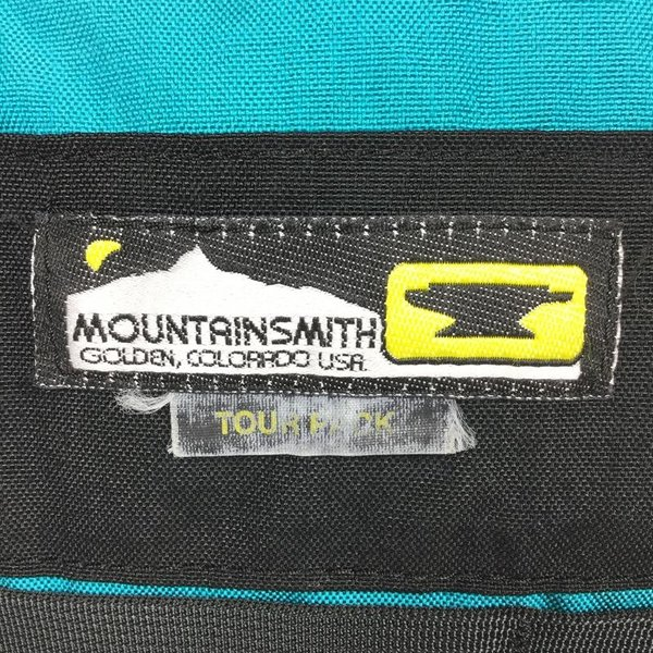 マウンテンスミス MOUNTAIN SMITH ツアー パック TOUR PACK ターコイズ コーデュラ ナイロン  One ターコイズ ブルー系|2ndgear-outdoor|06