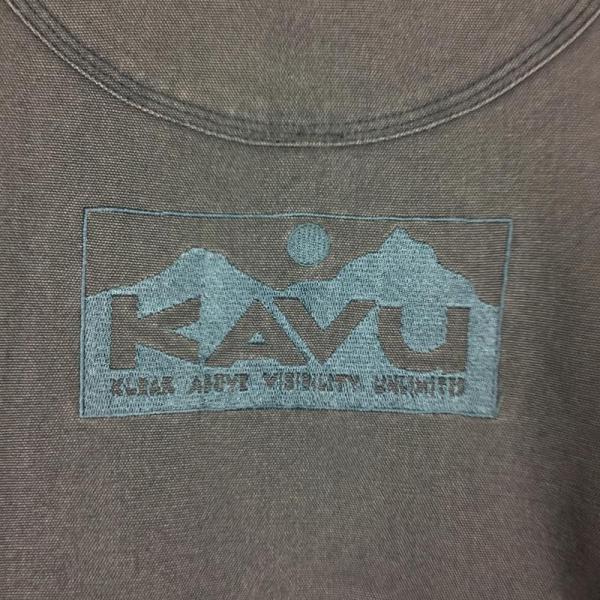 カブー KAVU フリース ラインド キャンバス ジャケット フルジップ  MEN's M グレー系|2ndgear-outdoor|07