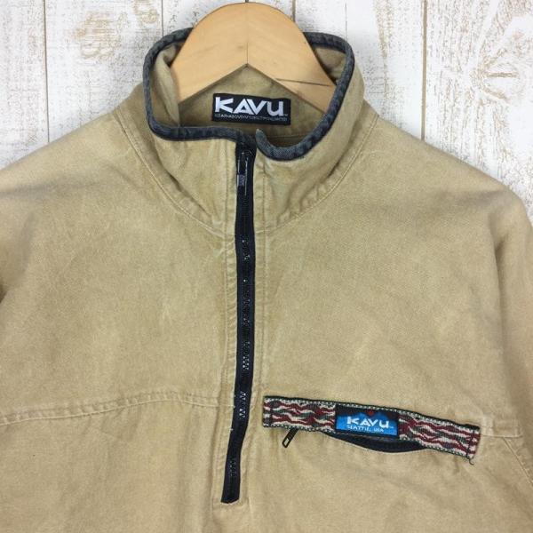 【30%OFF】カブー KAVU 90s スローシャツ 旧タグ アメリカ製 International MEN's M ベージュ系 2ndgear-outdoor 03