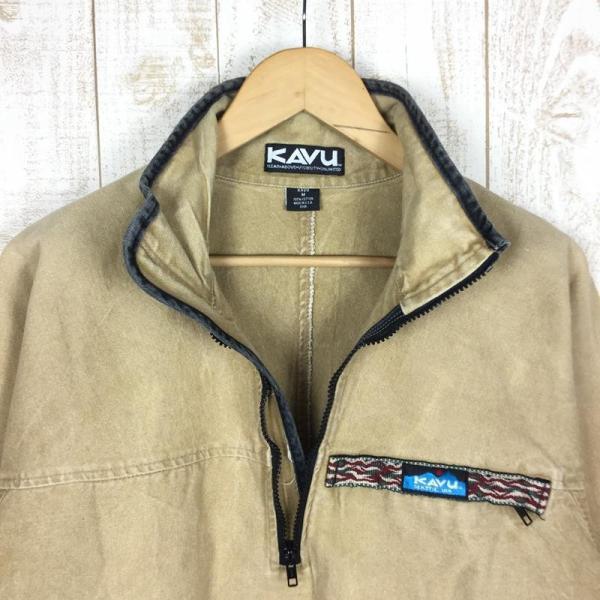 【30%OFF】カブー KAVU 90s スローシャツ 旧タグ アメリカ製 International MEN's M ベージュ系 2ndgear-outdoor 04