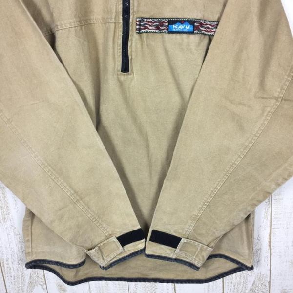 【30%OFF】カブー KAVU 90s スローシャツ 旧タグ アメリカ製 International MEN's M ベージュ系 2ndgear-outdoor 05