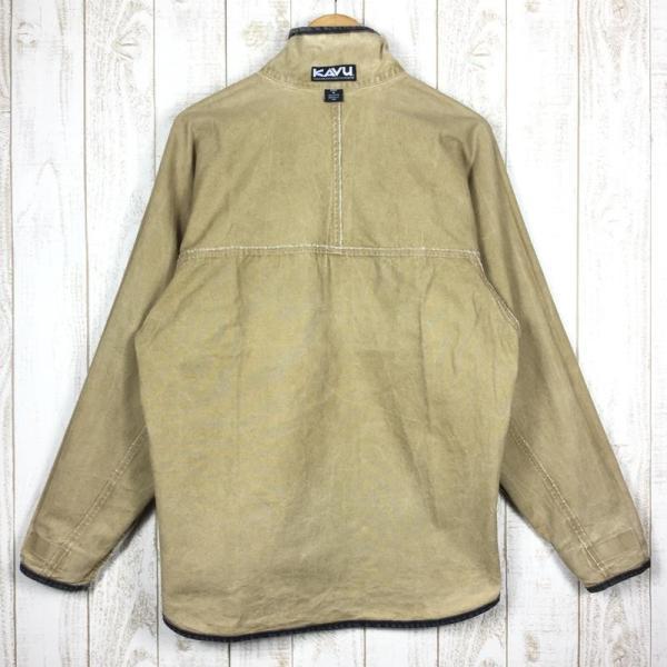 【30%OFF】カブー KAVU 90s スローシャツ 旧タグ アメリカ製 International MEN's M ベージュ系 2ndgear-outdoor 08
