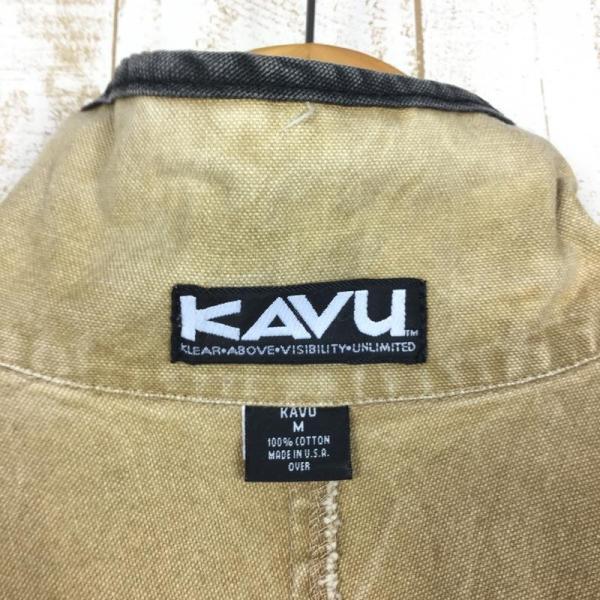 【30%OFF】カブー KAVU 90s スローシャツ 旧タグ アメリカ製 International MEN's M ベージュ系 2ndgear-outdoor 09