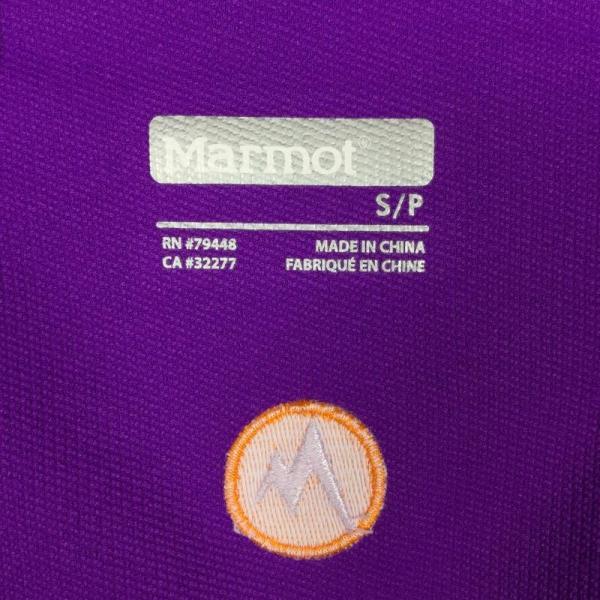 マーモット MARMOT テンポ フーディ Tempo HOODY  International WOMEN's S パープル系 2ndgear-outdoor 08