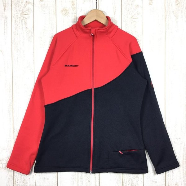 マムート MAMMUT バーボー ジャケット Barbeau Jacket  International WOMEN's M レッド系|2ndgear-outdoor