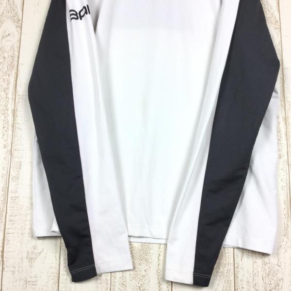 バイロ BAILO ストレッチ クイックドライ ロングスリーブ クルー シャツ  MEN's M ホワイト系 2ndgear-outdoor 05