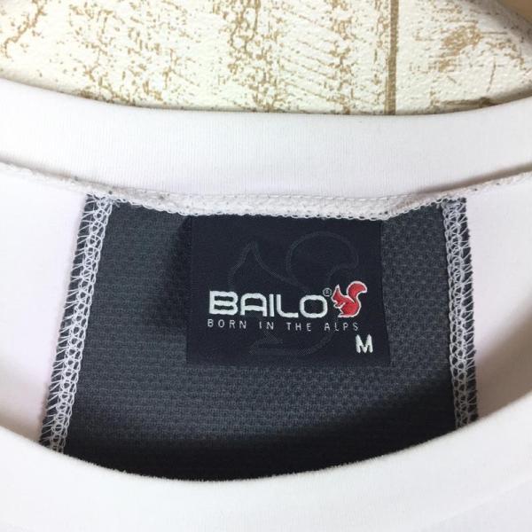 バイロ BAILO ストレッチ クイックドライ ロングスリーブ クルー シャツ  MEN's M ホワイト系 2ndgear-outdoor 08