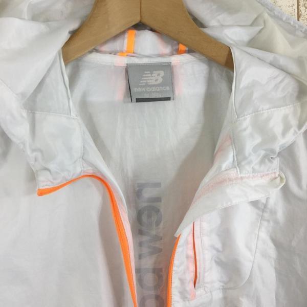 ニューバランス NEW BALANCE パッカブル ウィンドシェル ジャケット ウィンドブレーカー  Asian WOMEN's M ホワイト系|2ndgear-outdoor|04
