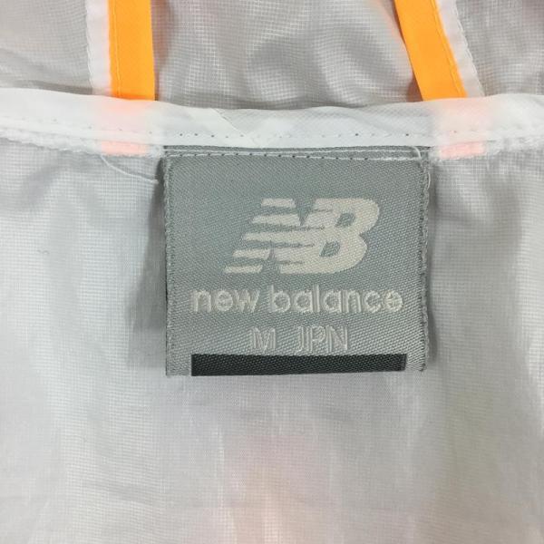 ニューバランス NEW BALANCE パッカブル ウィンドシェル ジャケット ウィンドブレーカー  Asian WOMEN's M ホワイト系|2ndgear-outdoor|10