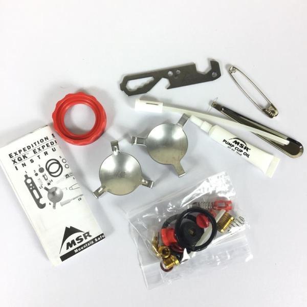 エムエスアール MSR XGK EX用 エクスペデションサービスキット EXPEDITION SERVICE KITS  One レッド系|2ndgear-outdoor|02