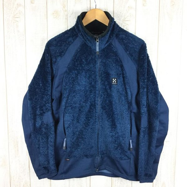 ホグロフス HAGLOFS ハスキー ジャケット HUSKY JACKET ポーラテック サーマルプロ パワーストレッチ  M ブルー系|2ndgear-outdoor