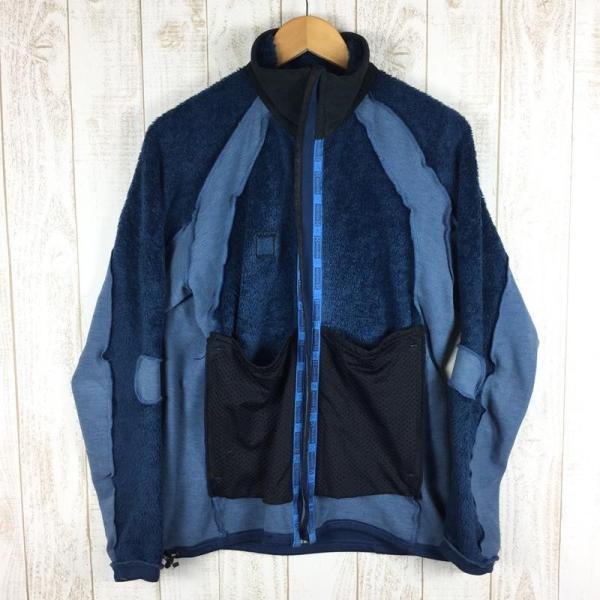 ホグロフス HAGLOFS ハスキー ジャケット HUSKY JACKET ポーラテック サーマルプロ パワーストレッチ  M ブルー系|2ndgear-outdoor|03