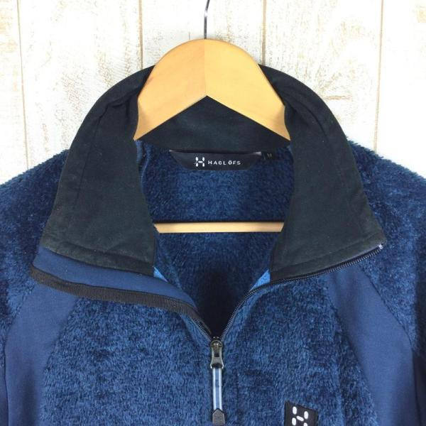 ホグロフス HAGLOFS ハスキー ジャケット HUSKY JACKET ポーラテック サーマルプロ パワーストレッチ  M ブルー系|2ndgear-outdoor|06