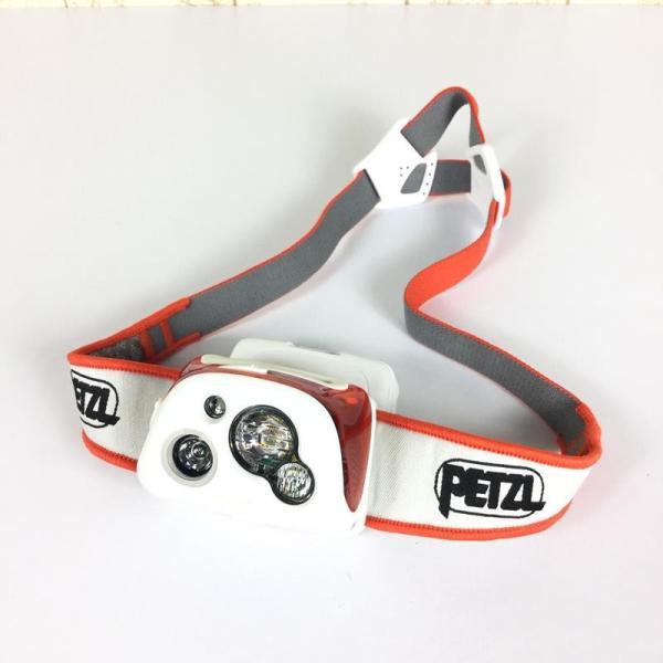 ペツル PETZL リアクティック プラス REACTIC PLUS ヘッドライト 300ルーメン + リチャージャブルバッテリー One オレンジ系|2ndgear-outdoor