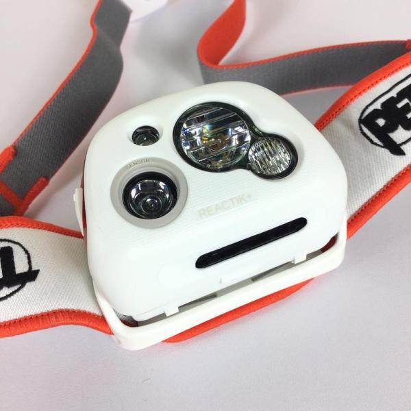 ペツル PETZL リアクティック プラス REACTIC PLUS ヘッドライト 300ルーメン + リチャージャブルバッテリー One オレンジ系|2ndgear-outdoor|03