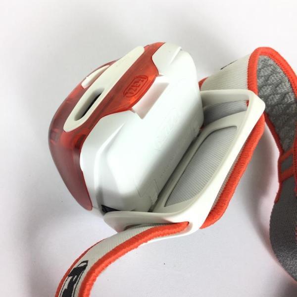 ペツル PETZL リアクティック プラス REACTIC PLUS ヘッドライト 300ルーメン + リチャージャブルバッテリー One オレンジ系|2ndgear-outdoor|04